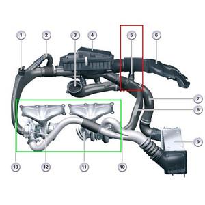 ZT,宝马两代涡轮发动机N54 和 N55的差别高清图片